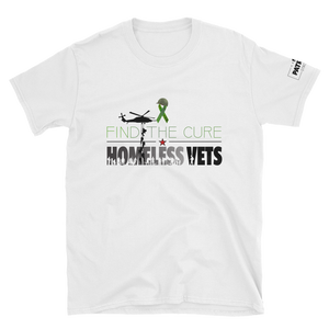 Find The Cure T-Shirt | Homeless Veterans | Light Colors