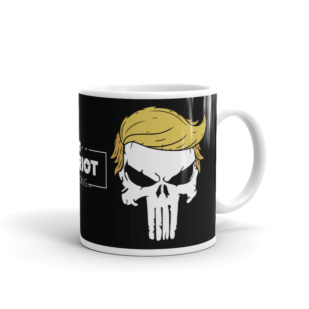 Trump Punisher Coffee Mug | Dark Color