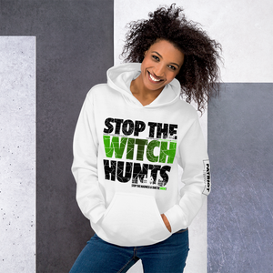 Stop Political Witch Hunts Hoodies | Light Colors