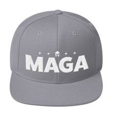 Load image into Gallery viewer, MAGA Hat Featuring 3D Puff Embroidery | Make America Great Again | Shown in Camo, Various Colors Available