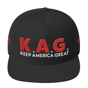Ultimate Keep America Great Hat With Red 3D Puff Embroidery | Dark Colors