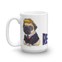 Load image into Gallery viewer, Trump Pug Republican Mug | I Vote Repuglican Coffee Mug #3 | Light Color