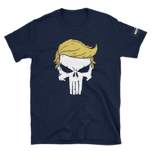 Load image into Gallery viewer, Trump Punisher T-Shirt | Solid Skull | Dark Colors