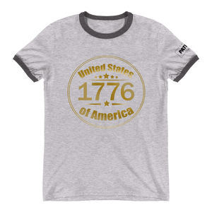 1776 United Stated of America Ringer T-Shirt | Various Colors
