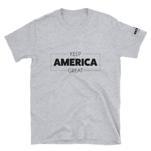 Keep America Great T-Shirt | Outlined | Light Colors