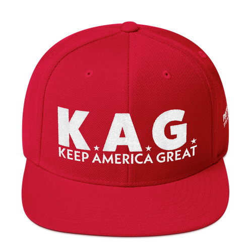 K.A.G. Keep America Great Hat | Red