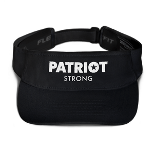 Patriot Strong Blue Embroidered Visor | Dark Colors
