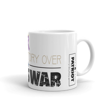 Load image into Gallery viewer, Stop Endless War Mug | Find Victory Over Endless War Coffee Mug | Light Color