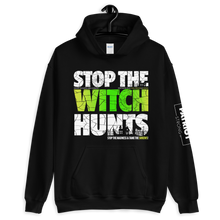 Load image into Gallery viewer, Stop Political Witch Hunts Hoodies | Dark Colors