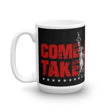 Load image into Gallery viewer, 2nd Amendment Coffee Mug | Lady Liberty AR-15 Come & Take It Mug | Dark Color