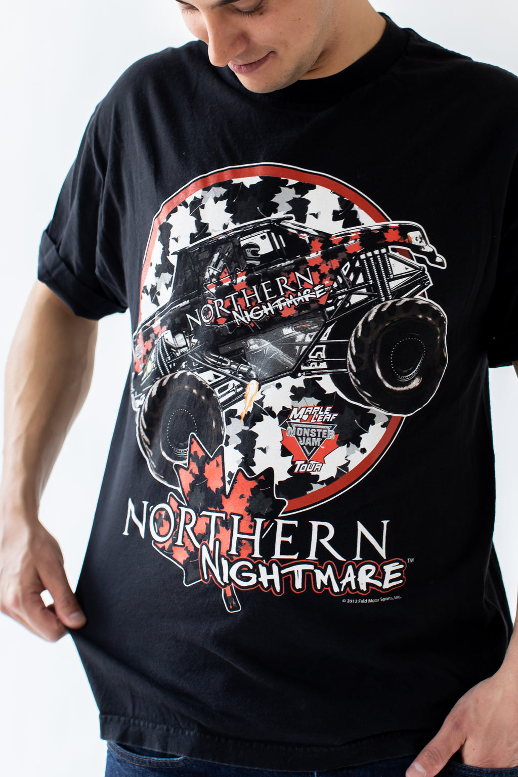 Northern Nightmare Monster Truck Tee