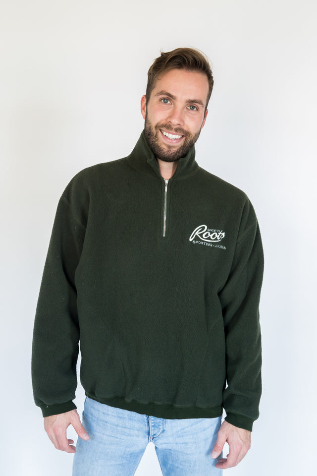 Vintage ROOTS Made in Canada Olive Pullover
