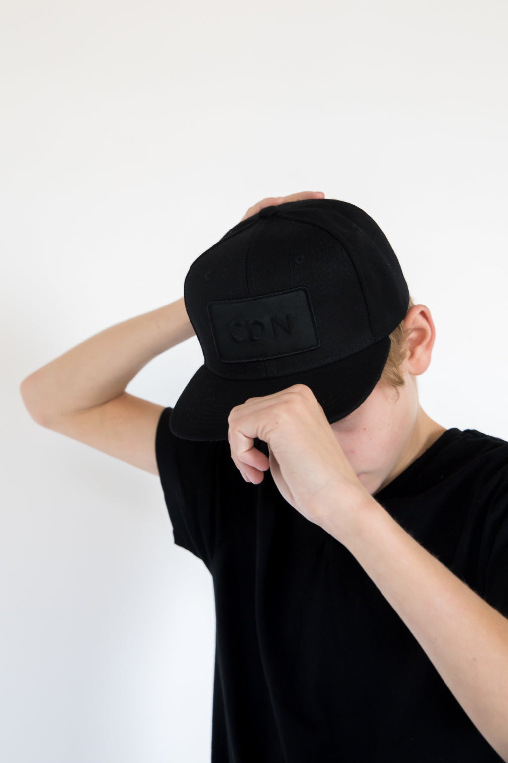 CDN All Black Youth Snapback