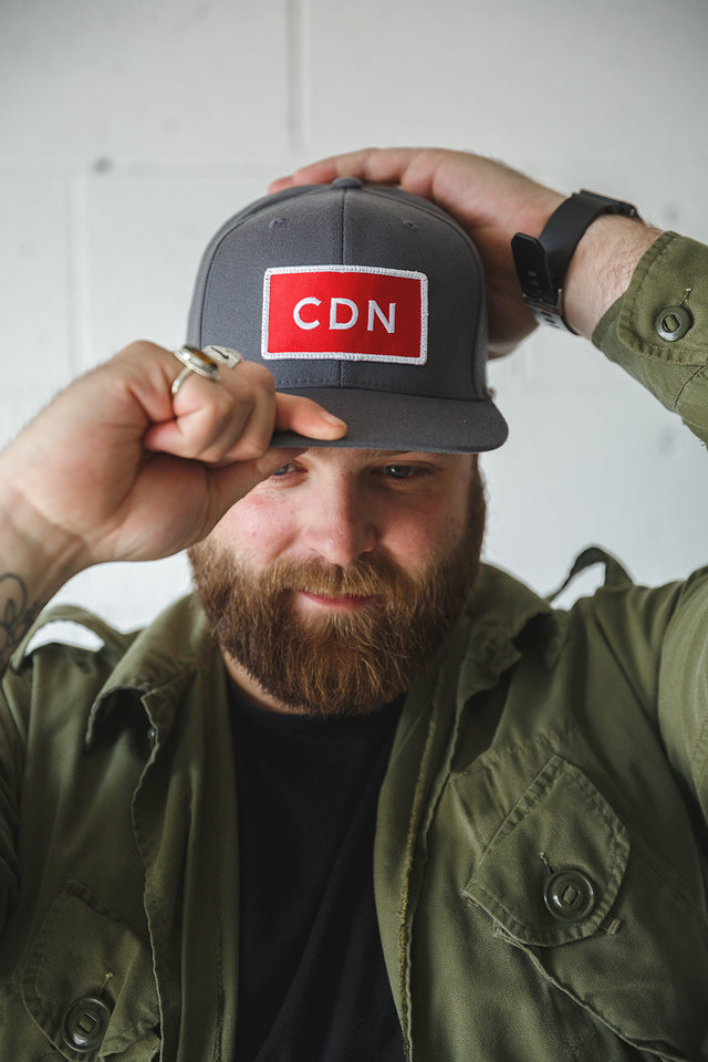 CDN Original Snapback - Grey