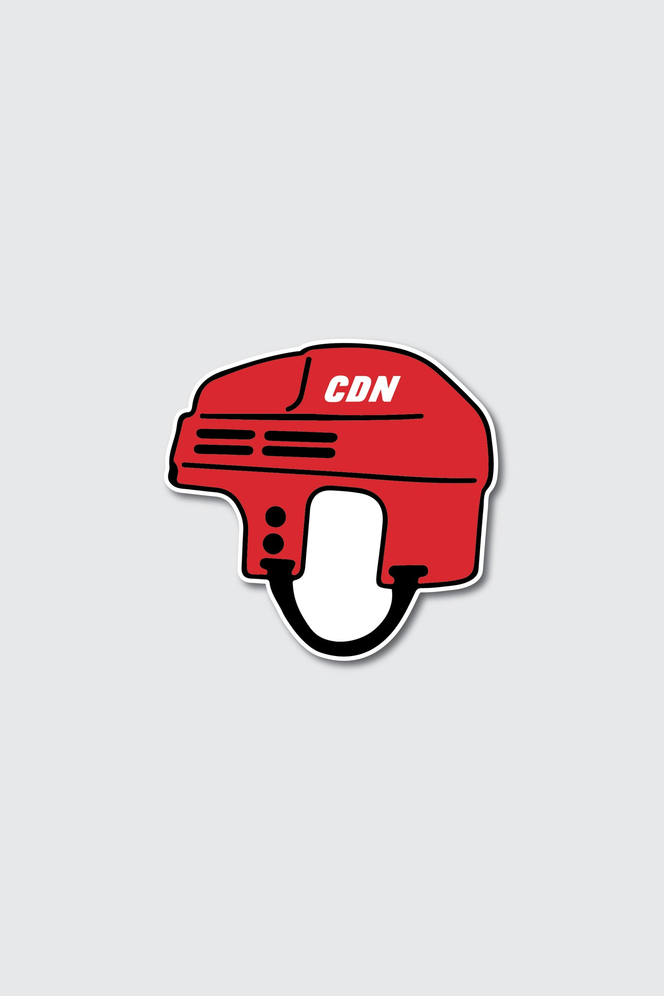 CDN Hockey Helmet Sticker