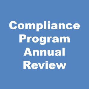Compliance Program Annual Review