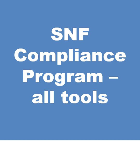 SNF Compliance Program