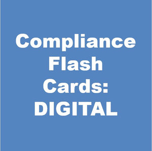 Compliance Flash Cards - DIGITAL