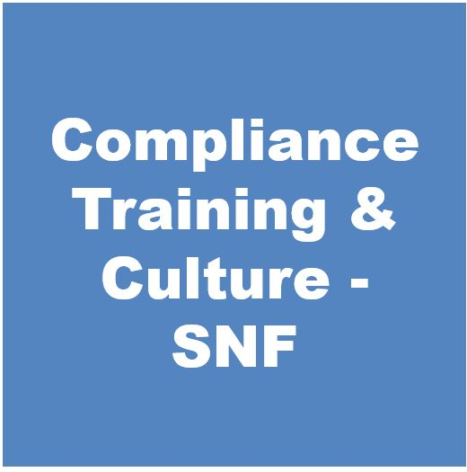 Compliance Training & Culture Toolkit- SNF