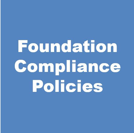 Foundation Compliance Policy Forms