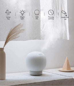 Night light air purifier for aromatherapy