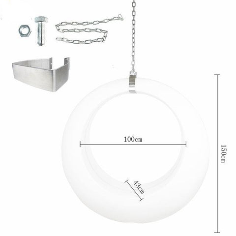 Modern Swinging Pendant Ceiling 3D Moon Lamp - Lamps & Lighting
