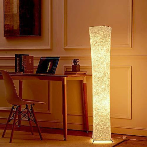Luminous Fabric Shade Floor Lamp - Lamps & Lighting
