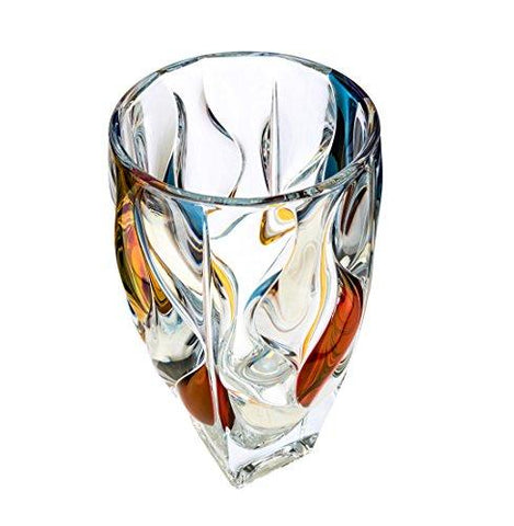 crystal clear tabletop flower vase