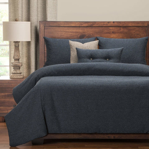 Classic Solid Textured 6PC Bedding Set - Novarian Creations