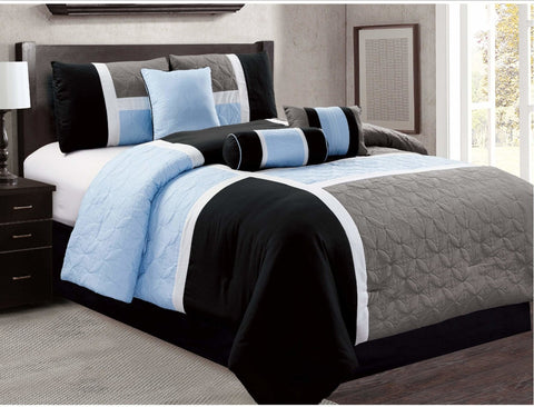 Luxury Comforter 7PC Bedding Set - Novarian Creations