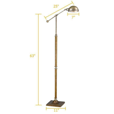 American Iron Bronze Floor Lamp - Lamps & Lighting