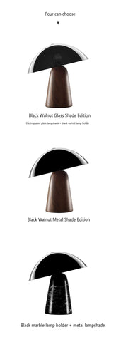 Chinese Raw Marble Carbon Steel Table Lamp - Lamps & Lighting