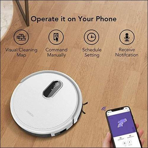 high power robot vacuum cleaner