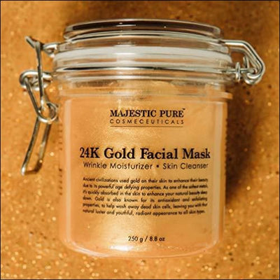 24K Ancient Gold Face Mask Formula