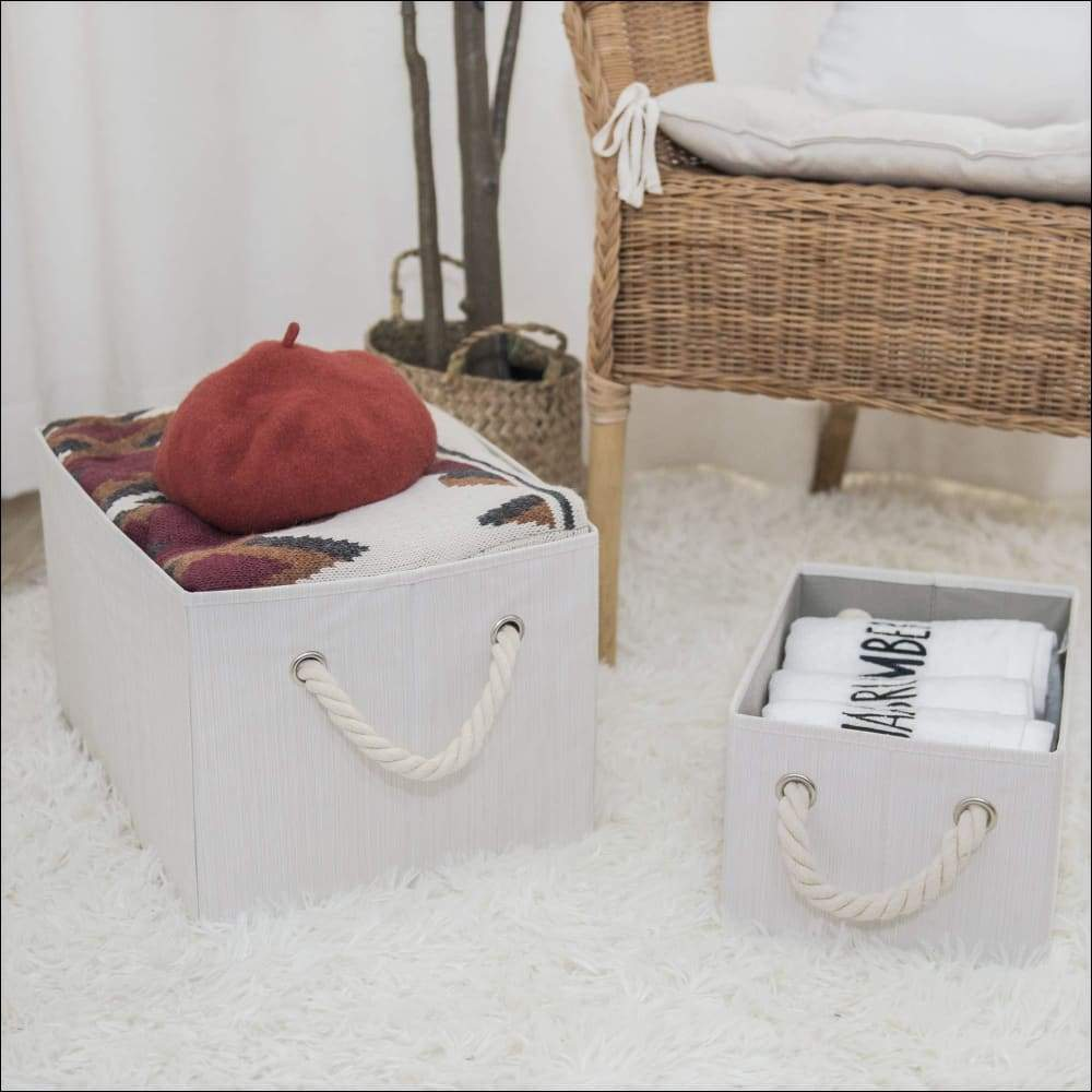 3-Pack Collapsible Storage Baskets