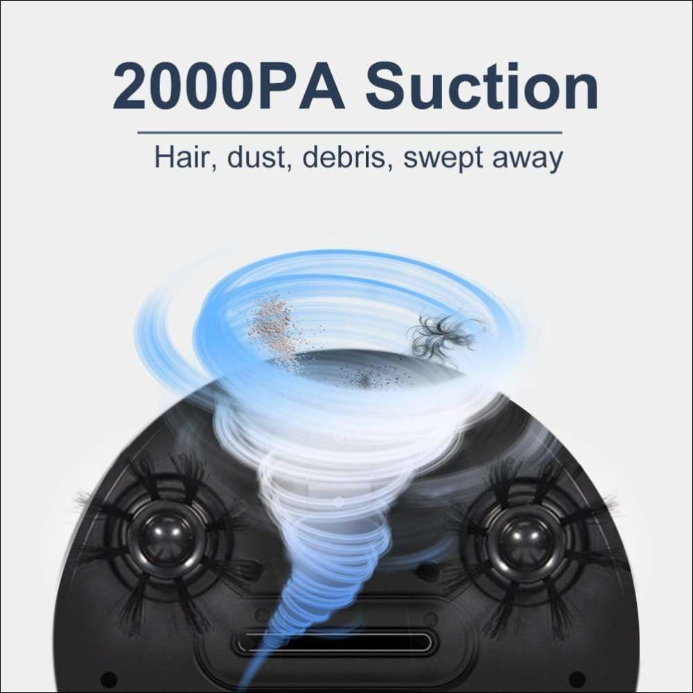 4 in 1 Smart Robot Vacuum Cleaner - Home Electronics