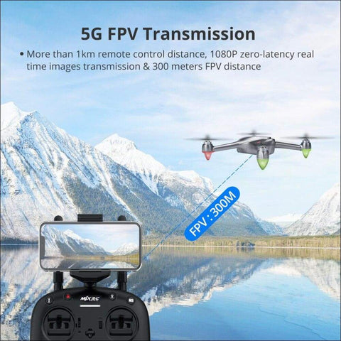 5G Professional 1080P Quadcopter RC Drones - Travel Electronics