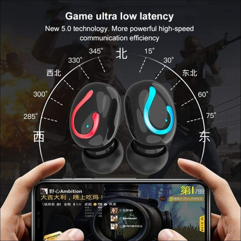 6D Power Bank Wireless Earbuds - Travel Electronics