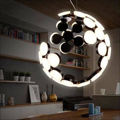 Abstract Planet Earth Pendant Ceiling Lamp