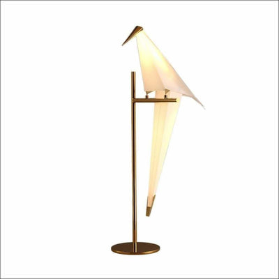Acrylic Iron Crane Bird Table Lamp