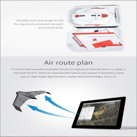 Aerial UAV Mapping RC Airplane Drone - Travel Electronics