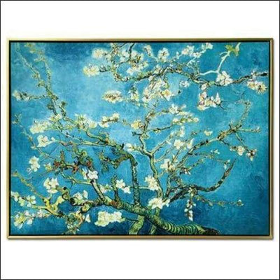 Almond Blossom Framed Canvas Painting