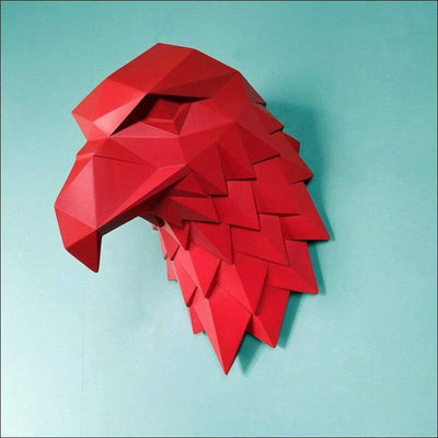 American Eagle Head Wall Sculpture