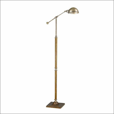 American Iron Bronze Floor Lamp