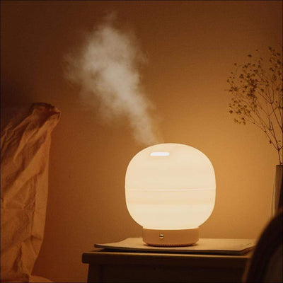 Aromatherapy Rotation Air Humidifier Lamp
