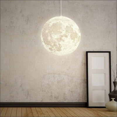 Atmosphere Pendant Ceiling 3D Moon Lamp