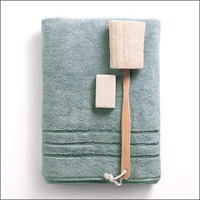 Bamboo & Turkish Cotton Ocean Mist Bath Towel