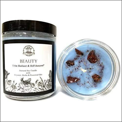 Beauty Affirmation Herbal Scented Soy Candle