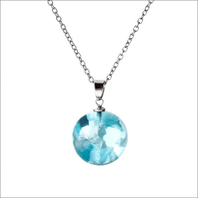 Bijouterie Sky Cloud Orb Pendant Necklace