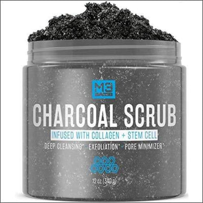 Charcoal Collagen Stem Cell Face Scrub